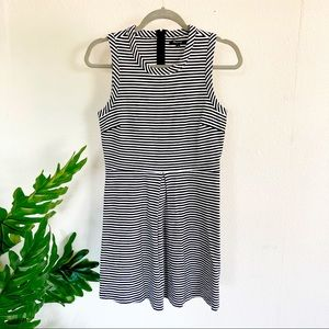 Madewell Striped Afternoon Dress size small